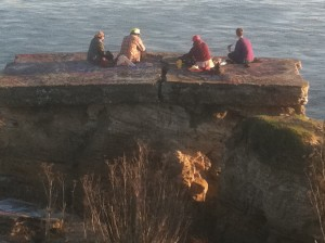 "Hike to what remains of the ""Sunken City"" and partake of great coastal views."