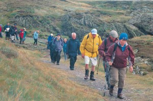 These older hikers in England's Lake District aren't about to hang up their boots. (photo touristnetuk.com)