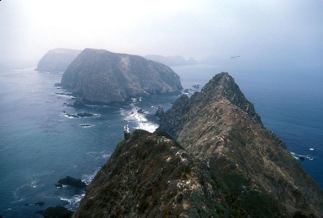 Anacapa: 3 islands in one.