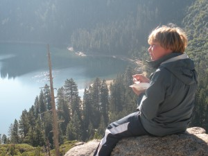 Lake Tahoe is a great place to take the kids camping and hiking.