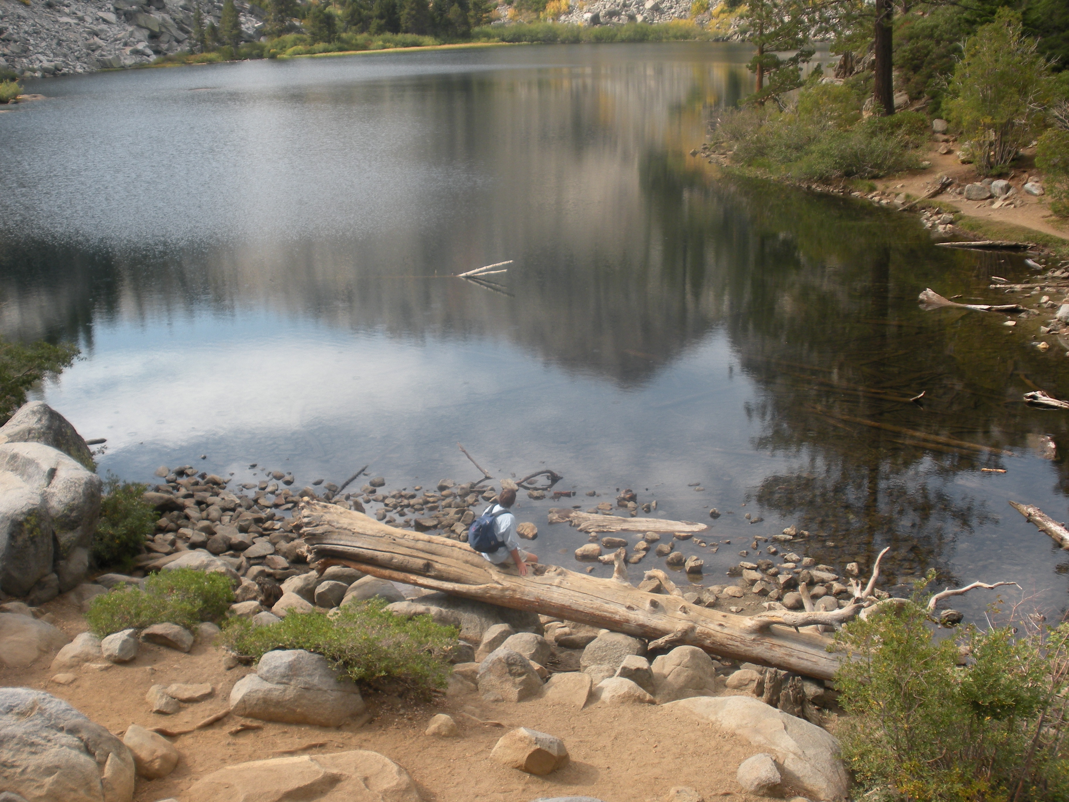 The easy hike to lovely Eagle Lake is a good one for the whole family.