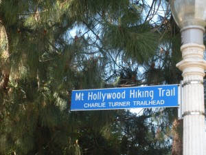 The trailhead for Mt. Hollywood is named for longtime park volunteer Charlie Turner.