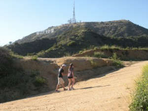 Visitors from across the nation and around the world take a hike to the famed Hollywood Sign.
