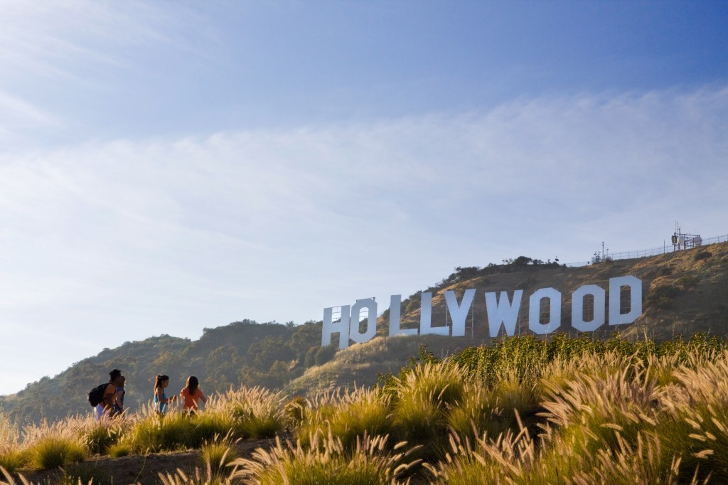 The Hollywood Sign: even bigger than you thought when you hike up to it.