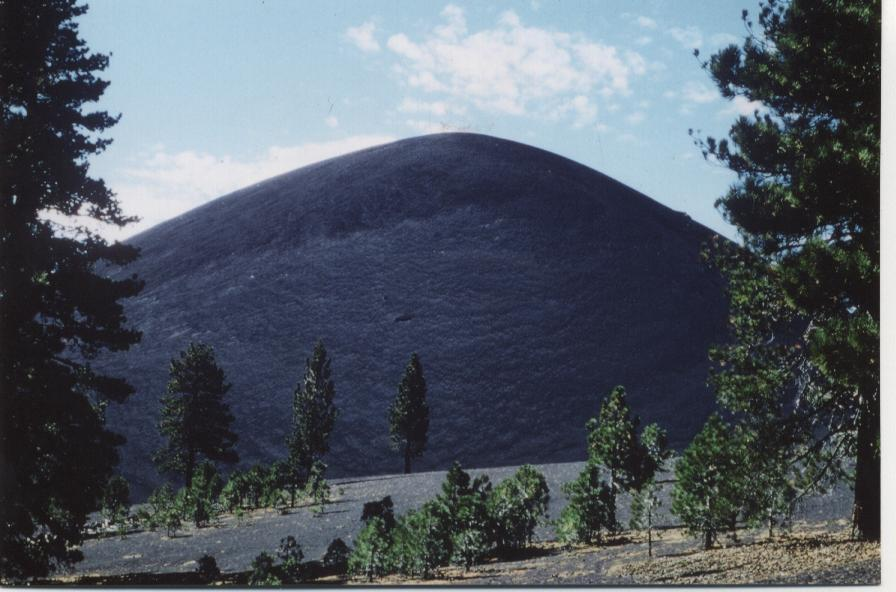 Cinder Cone, your basic volcano in Lassen Volcanic National Park