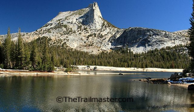 Cathedral Lake and Cathedral Peak: John Muir found great spiritual uplift here; maybe you will, too.