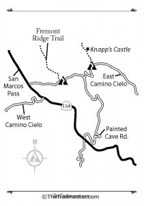Knapp's Castle Map by Mark Chumley (click to enlarge)