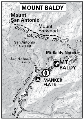 mount baldy map by tomharrisonmaps com click to enlarge