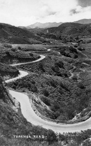 The drive into Topanga Canyon to take a hike has been part of the hiking experience for 100 years.