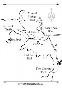 Bee Rock Map by Mark Chumley (click to enlarge)