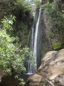 Sycamore Canyon Falls in Point Mugu State Park.