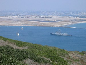 Hike Bayside Trail and get a great view of San Diego Bay.