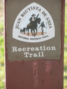 Juan Bautista De Anza Historic Trail helps visitors follow in the footsteps of California's early explorers and settlers.
