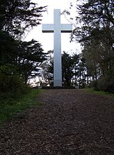Hike to the cross atop Mt. Davidson, highest peak in San Franciso.