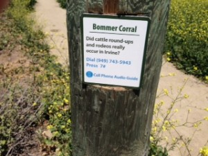 Bommer Canyon Nature Trail is keyed to a Cell Phone Audio Guide.