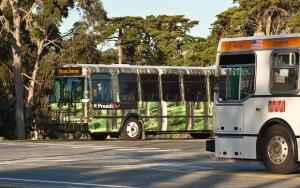 Two ways to get to the start of some great hikes in San Francisco: PresidiGo Shuttle and the Muni Bus system.