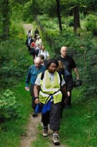 England's Walk for Health program boasts 70,000 active nature walkers. (courtesy Walk for Health)