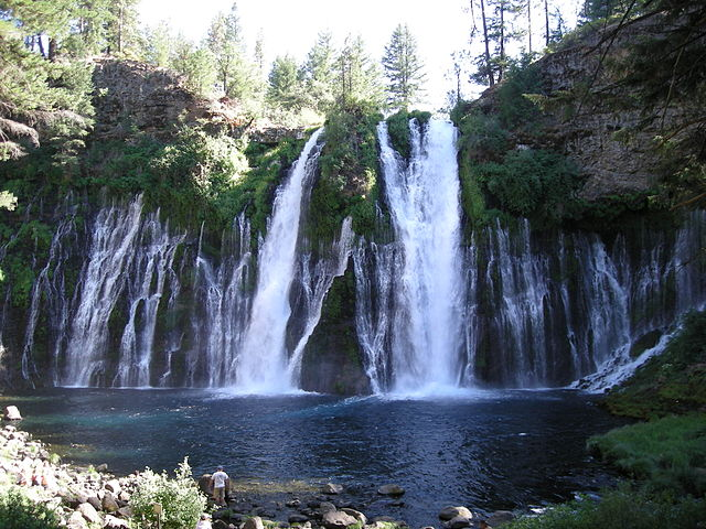 One of California's natural wonders: Burney Falls in McArthur-Burney State Park