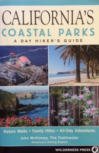 """""""California's Coastal Parks: A Day Hiker's Guide"""" by John McKinney details his favorite beach walks and blufftop trails."""