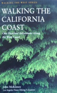 """""""Walking the California California Coast"""" by John McKinney reached a wider audience with a bigger publisher (HarperCollins)."""