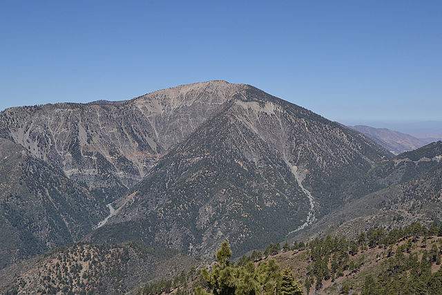 Mount Baden-Powell is the spectacular conclusion to the Scouts' Silver Moccasin Trail across the San Gabriel Mountains. (photo by Eekster)