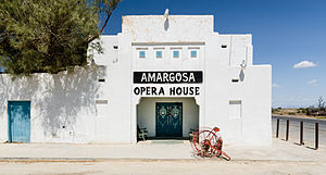 Amargosa Opera House and Hotel, a cultural oasis and a place to stay in a near ghost town.