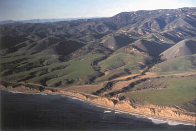 The rural Gaviota Coast is a magnificent blend of beaches and bluffs. (Photo NPS)