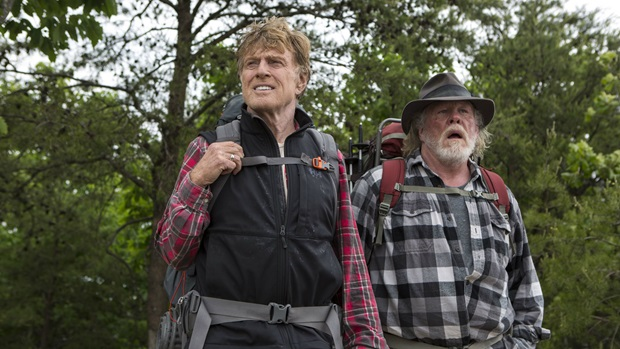 "Robert Redford and Nick Nolte star in ""A Walk in the Woods"""
