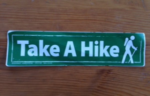"""Take a hike!"" on Take a Hike Day or whenever you can."