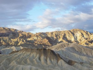Sunrise at Zabriskie Point (photo Daniel Mayer)