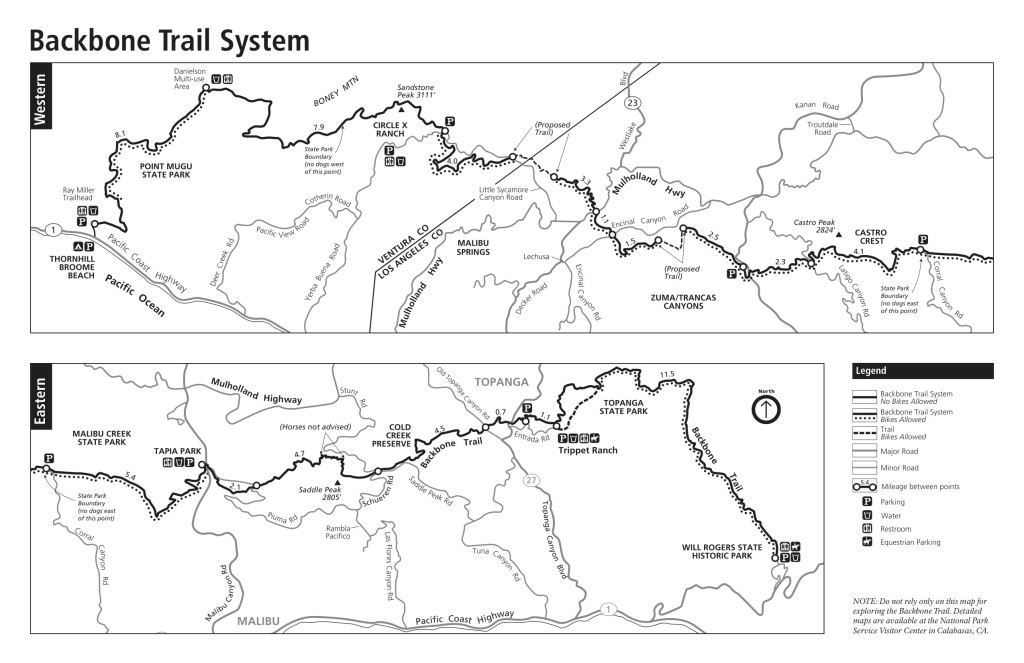 Backbone Trail Route (NPS)