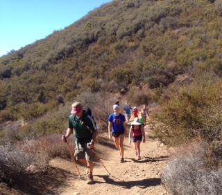 Backbone Trail, ready for hikers of all ages