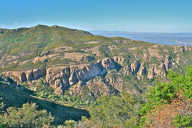 The highest and wildest parts of the Backbone Trail are in the western part of the Santa Monica Mountains. (courtesy NPS)