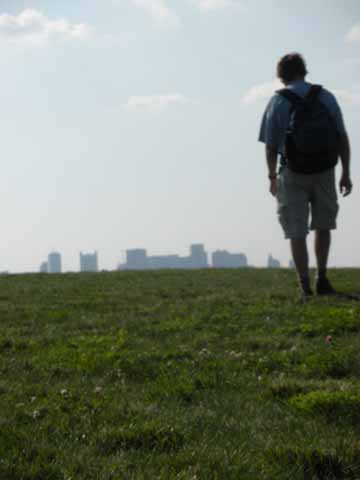 Another way to look at Boston: a hike on Spectacle Isle