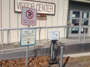 Plug into a Park: Electric Vehicle Charge Station at Leo Carrillo State Park