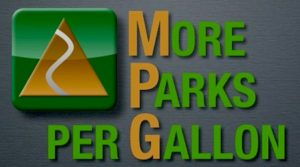 MPG Adventures (More Parks Per Gallon), The Trailmaster's new program to explore our state and national parks with fuel efficient and hybrid vehicles.