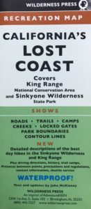 New Edition of California's Lost Coast map now available