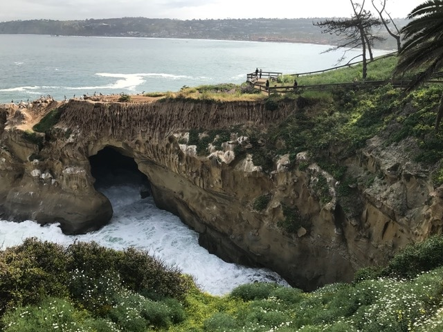 Enjoy a breathtaking hike atop the dramatic cliffs of La Jolla on Coast Walk Trail.
